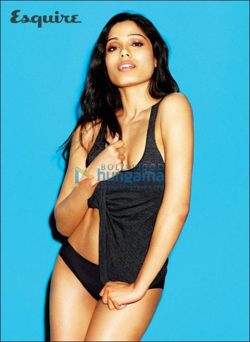 Check Out: Freida Pinto's hot photo shoot