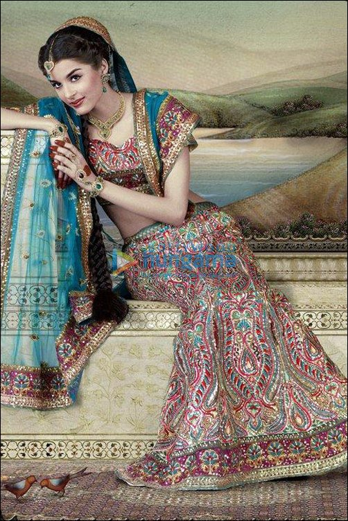 Check Out: Giselle Monteiro in Indian Bridal Wear