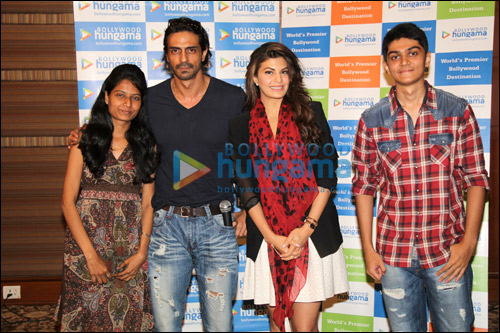 Meet N Greet with Jacqueline Fernandez and Arjun Rampal