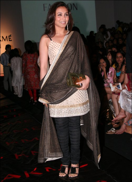 Bollywood stars at Lakme Fashion Week