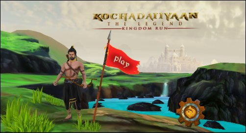 Soundarya, Neeraj Roy launch Kochadaiiyaan mobile games