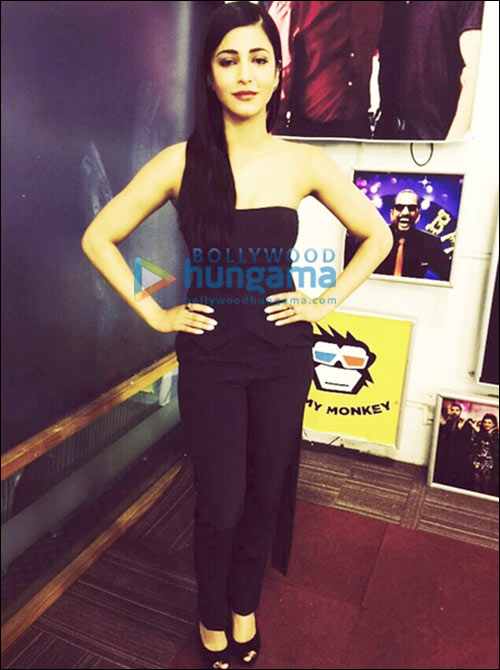 Check Out: Shruti Haasan's top 5 looks during Welcome Back promotions