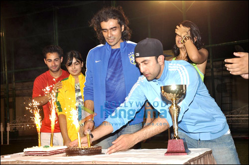 Check out: Ranbir plays football with cousin Armaan
