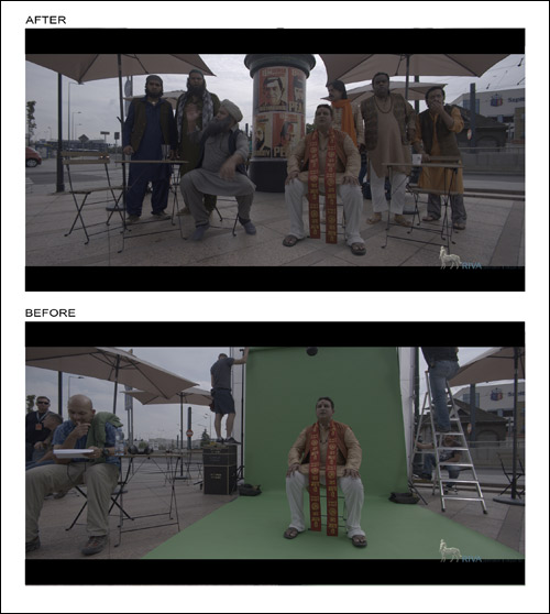 Deconstructing the VFX of Bangistan