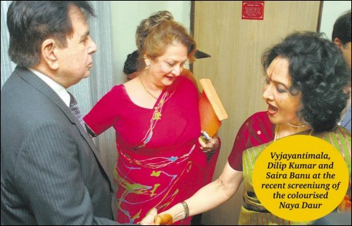 Vyjayantimala remembers the RK-Dilip Kumar rivalry