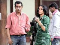 On The Sets Of The Film Phas Gaye Re Obama Featuring Rajat Kapoor,Neha Dhupia,Amol Gupte,Amit Sial,Sanjay Mishra,Manu Rishi,Brijendra Kala,Sumeet Nijhawan,Surendra Rajan,Pragati Pandey,Devender Chaudhary,Vivake,Avantica