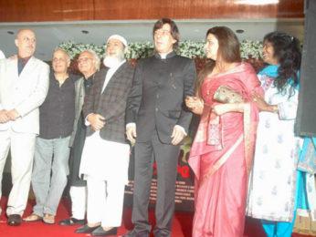 Photo Of Anupam Kher,Mahesh Bhatt,Gulshan Grover,Razzak Khan,Neelima Azim From The Mahesh Bhatt launches film 'Kuch Log' based on 26/11