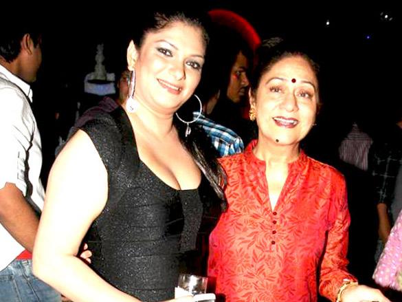 Aruna Irani's at SAB TV party for Baba Aisa Var Dhoondhon