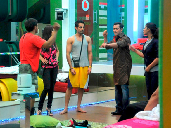 Salman's entry into the Bigg Boss house