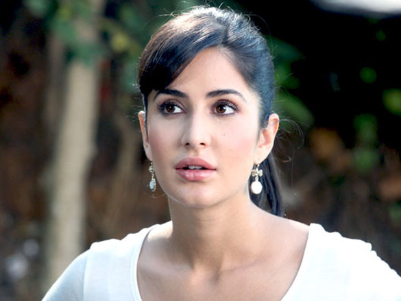 Katrina Kaif shoots for 'Main Krishna Hoon' at Filmcity