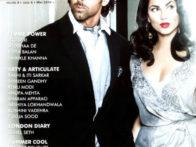 Hrithik Roshan,Barbara Mori On The Cover Of Hi! Blitz,May 2010
