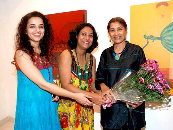 Dilip Joshi at Bi-Scope exhibition by Maushmi Ganguly and Arpan Sidhu
