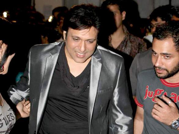 Govinda and Malaika on the sets of 'Jhalak Dikhhla Jaa'
