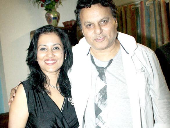 Madhushree and Robby Badal celebrated their anniversary
