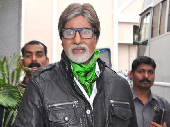 Amitabh Bachchan graces KBC photoshoot