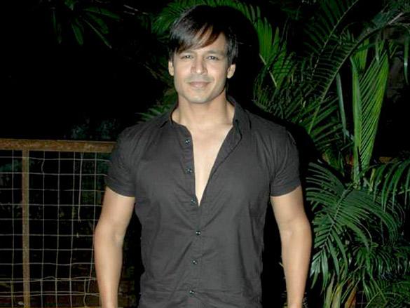 Vivek Oberoi on sets of ad shoot