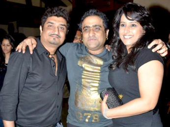 Photo Of Neeraj Shridhar,Kunal Ganjawala From The Shankar Ehsaan Loy post concert party