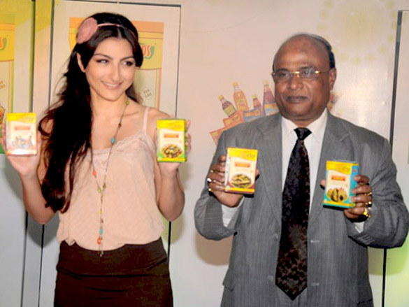 Soha Ali Khan at MPS organic masala launch