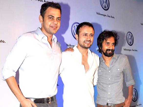 Arjun Rampal, Ekta and Neetu at Volkswagen Planet launch