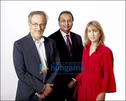 Anil Ambani, Spielberg