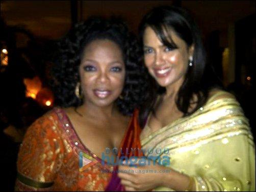 Oprah Winfrey,Sameera Reddy