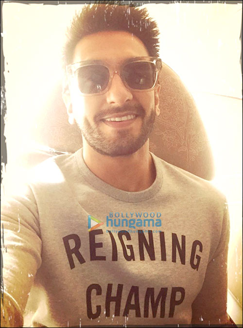 Check Out Ranveer Singh Sports A New Hairstyle For Befikre