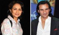 Sharmila Tagore, Saif Ali Khan