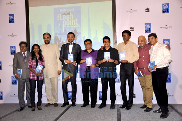 Launch of Fahad Samar's book 'Flash Point' at Palladium