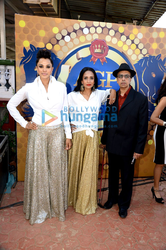Suchitra Pillai & Manasi Scott at AGP Race