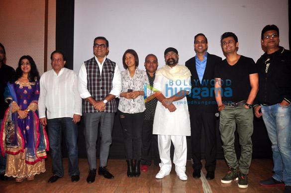Sanjeevni Bhilande, Anup Jalota, Abhijeet, Sunidhi Chauhan, Amar Haldipur, Uttam Singh, Sandesh Shandilya, Sonu Nigam, Irshad Kamil