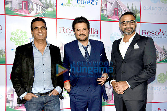 Anil Kapoor & Abhinay Deo grace the launch of Reso Villa