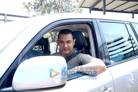 Aamir Khan's 50th birthday bash at Hilton Shilim Lonavla