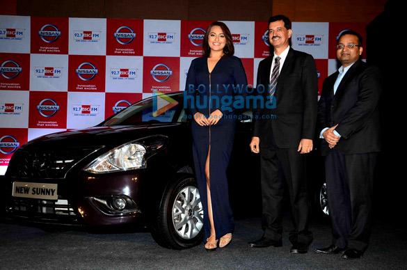 Sonakshi Sinha promotes Nissan Sunny Sedan
