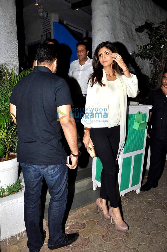 Shilpa Shetty snapped in Bandra