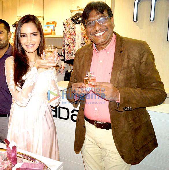 Shazahn Padamsee launches Madame's 1st perfume 'JOEI' at Gurgaon