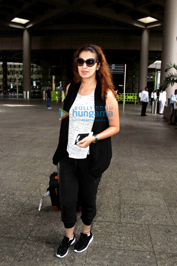 Raai Laxmi snapped at the airport