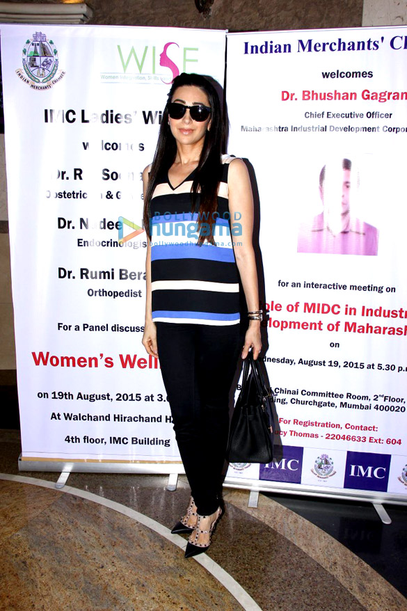 Karisma Kapoor graces IMC Ladies' Wing's Women's Wellness programme