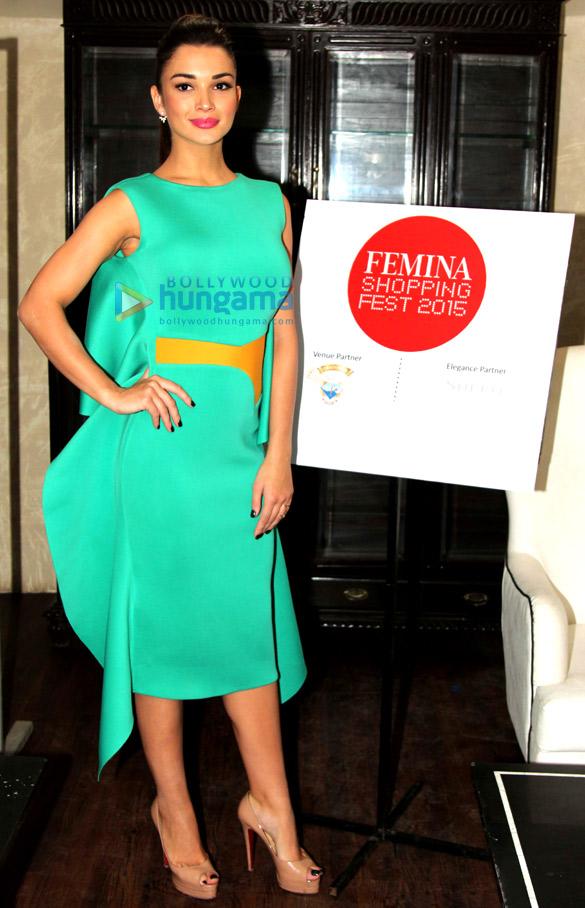 Amy Jackson graces 'Femina Shopping Fest 2015'