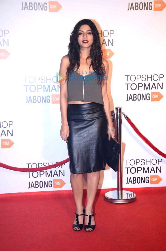 Launch of brand Topshop and Topman on Jabong.com