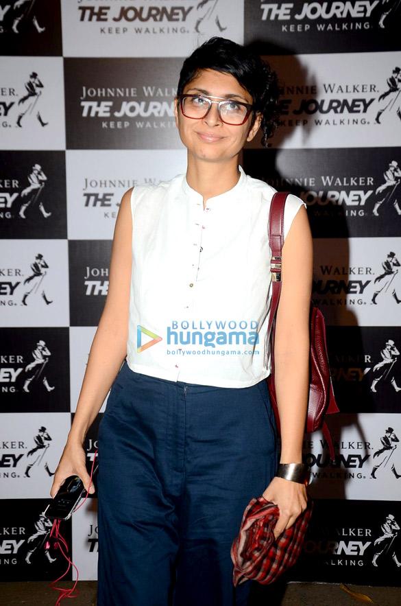 Kiran Rao, Ayan Mukerji & Mandira Bedi at Johnnie Walker's The Journey event