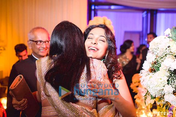 Celebs grace grand reception of Rahul Sharma & Asin in Mumbai