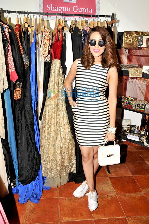 Celebs grace Shagun Gupta's design show