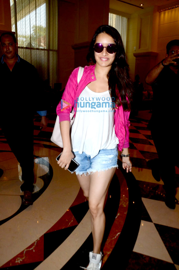Shraddha Kapoor snapped attending an event at a 5-Star hotel