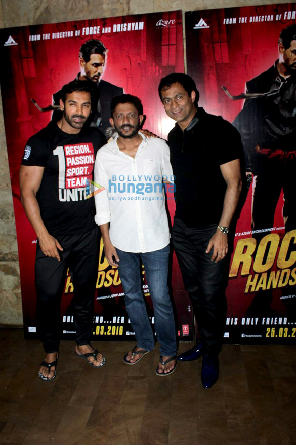 Special screening of 'Rocky Handsome'