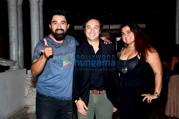 Konkona Sen Sharma, Soha Ali Khan & others at Colin & Brad's Two Man Show play at NCPA