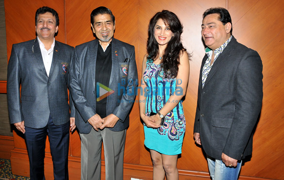 Jagdish Tytler & Aziz Babloo at a conference to announce 'Kurash' as a new sport in Olympics & Asia Games