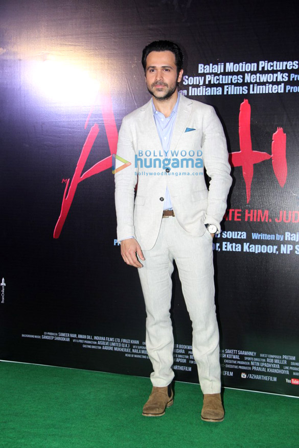 Trailer launch of 'Azhar'