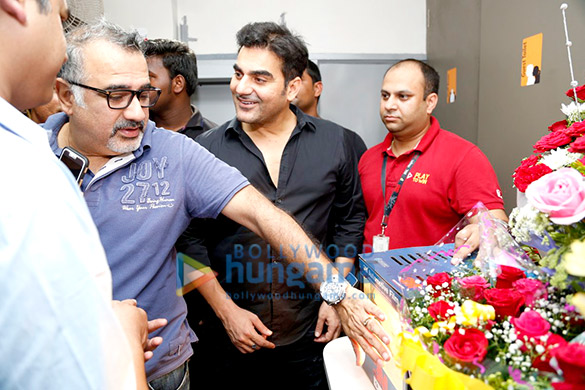 Arbaaz Khan graces the launch of 3M Car Care