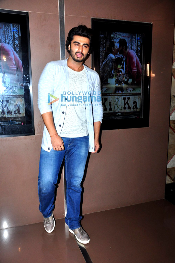 Arjun Kapoor hosts a special screening of 'Ki & Ka' for ladies