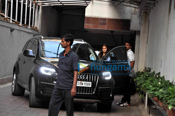Varun Dhawan & Alia Bhatt snapped post a meeting at Karan Johar's office